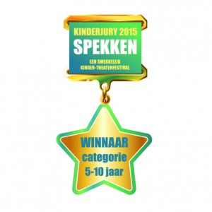 Janneman wint 1e prijs op Jeugdtheater festival Spekken