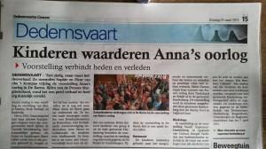 Recensie Anna's oorlog