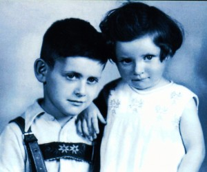 Mijn Pop huilt s nachts Eric Borrias I4 george en ursula voor WO II cover Lucie's Hope