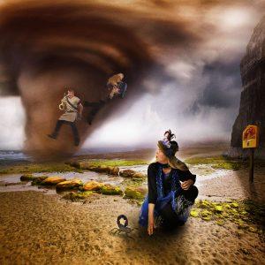 Rood Verlangen Tornado Foto Jan Schartman
